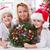 Navidad · diseno · navidad · corona · alegre · frontera - foto stock © ilona75