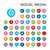 ensemble · médias · sociaux · réseau · icônes · café - photo stock © imaagio