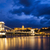 noite · ver · cidade · Hungria · outro · lado - foto stock © imagecom