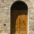 closed door of a building in the medieval town of san gimignano stock photo © imagedb