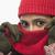 kadın · dışarı · gizleme · stüdyo · portre · kadın - stok fotoğraf © imagedb