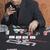 Mann · Casino · Tabelle · Spiel · Sonnenbrillen · Zigarre - stock foto © imagedb