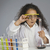 fille · scientifique · enfant · science · laboratoire · chimie - photo stock © imagedb