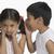 kız · kulaklar · kardeş · çocuklar · çocuklar - stok fotoğraf © imagedb