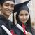 Paar · Abschluss · halten · Mann · Bildung · Porträt - stock foto © imagedb