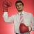 portre · işadamı · boks · eldivenleri · kamera · odak - stok fotoğraf © imagedb