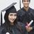 Paar · Abschluss · halten · Mann · Bildung · Erfolg - stock foto © imagedb