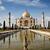 touristes · mausolée · Taj · Mahal · Inde · monde · jardin - photo stock © imagedb