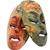 2 · マスク · 異なる · 喜怒哀楽 · 手 · 少女 - ストックフォト © imagedb