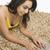 vrouw · werken · laptop · technologie · jonge · mooie - stockfoto © imagedb