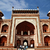 architecture · Taj · Mahal · entrée · détail · architectural · célèbre · ville - photo stock © imagedb