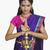indiai · fiatal · nő · imádkozik · felnőtt · nő · stúdió - stock fotó © imagedb
