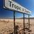 Namibya · çöl · Afrika · gökyüzü · imzalamak - stok fotoğraf © imagex