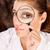 occhi · ricercatore · immagine · femminile · molecolare · modello - foto d'archivio © imarin