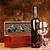 fles · wijnstok · twee · glas · strand · leuk - stockfoto © imarin