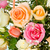 colored roses in basket stock photo © imarin