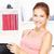 vrouw · glimlachen · werken · laptop · home · computer · vrouw - stockfoto © imarin