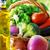 abóbora · cesta · projeto · folhas · milho · outono - foto stock © inaquim