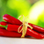 red hot chili peppers tied with rope stock photo © inaquim