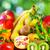 szeletel · friss · hámozott · kiwi · citrom · mandarin - stock fotó © inaquim