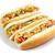forró · kutyák · mustár · kettő · grillezett · izolált - stock fotó © inganielsen