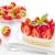 fehér · edény · eper · gyümölcs · desszert · gyönyörű - stock fotó © inganielsen