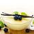 Bowl of vanilla pudding stock photo © IngaNielsen