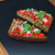 bruschetta · delicioso · tomates · manjericão · pesto - foto stock © IngridsI