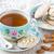 beker · thee · amandel · cookies · porselein · amandelen - stockfoto © IngridsI
