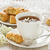 Cup bird-cherry tea  stock photo © IngridsI