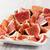 prosciutto · sandwich · brood - stockfoto © ingridsi