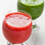 strawberry and spinach smoothie juice stock photo © ingridsi