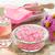 spa · kezelés · szett · tengeri · só · rózsa · aroma · olaj - stock fotó © IngridsI