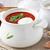 repolho · bacon · sopa · rústico · pão - foto stock © ingridsi