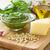 pesto · albahaca · salsa · frescos · ingrediente - foto stock © IngridsI