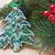 クリスマス · クリスマスツリー · 装飾された · 風船 - ストックフォト © ingridsi