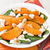 spinach persimmon goat cheese salad stock photo © ingridsi
