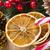 mooie · christmas · kaars · decoraties · licht · home - stockfoto © ingridsi