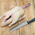 nyers · kacsa · kés · fehér · mell · hús - stock fotó © inxti