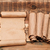 blank old sheet paper with pile scrolls on old wooden background stock photo © inxti