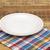 fehér · üres · tányér · színes · szalvéta · piros - stock fotó © inxti