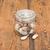 friss · fokhagyma · üveg · bögre · öreg · fa · asztal - stock fotó © inxti