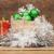 Noël · décoration · verre · fond · boîte · rouge - photo stock © inxti