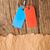 niebieski · czerwony · srebrny · łańcucha · vintage - zdjęcia stock © inxti