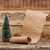 weinig · speelgoed · kerstboom · oud · papier · scroll · winter - stockfoto © inxti