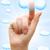 iş · basın · parmak · indirmek · düğme · el - stok fotoğraf © inxti