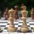 közelkép · sakkfigurák · sakktábla · csoport · fekete · fekete-fehér - stock fotó © inxti