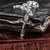 atravessar · antigo · madeira · metal · cristão · grão · de · madeira - foto stock © inxti