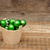 Noël · décoration · table · en · bois · bois · mur · résumé - photo stock © inxti