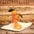 fresche · mandarino · vetro · natura · foglia · frutta - foto d'archivio © inxti
